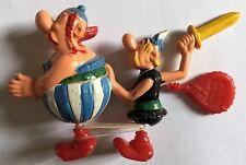 ASTERIX ET OBELIX ET POTION MAGIQUE * jouet marcheur à contrepoids * 1967 C/NEUF