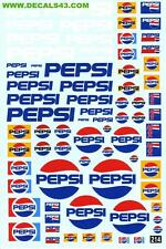 promo decalcomanie boisson pepsi cola 1/43 au 1/18
