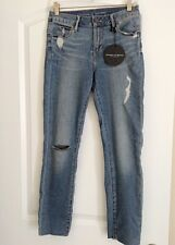 JUNIORS ARTICLES OF SOCIETY DENIM DISTRESSED JEANS (BRAND NEW) SIZE 25 WAIST