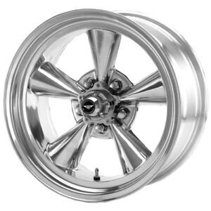 "American Racing VN109 Torq Thrust 15x5 5x4.5"" -6mm Polished Wheel Rim 15"" Inch"