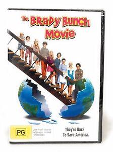 The Brady Bunch Movie DVD New & Sealed Region 4 Free Postage