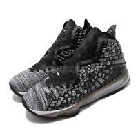 Nike LeBron XVII EP 17 Black White In The Arena James Basketball Shoe BQ3178-002