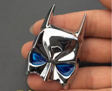 Chrome 3d Metal Batman Mask Dark Knight Car Motorcycle Emblem Decal Sticker