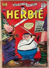 HERBIE #7 (1965) ACG Comics VG+
