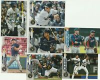 2020 TOPPS SERIES ONE C Yelich C Anderson Y Grandal T Grisham Brewers 7 CARD LOT