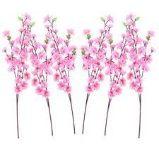 2 Kunstblume Kirschblütenzweig 120 cm Kirschblütenast Kunstblumen Blütenzweig