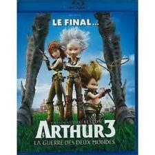Arthur 3 La guerre des deux mondes BLU-RAY NEUF SOUS BLISTER