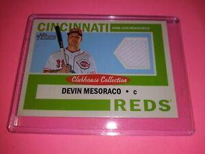 Devin Mesoraco Relic 2013 Topps Heritage Cincinnati Reds