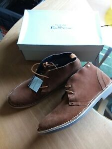 """BEN SHERMAN """"Logan Mod"""" Desert Boots / Shoes, Suede, size 12 - new in box"""