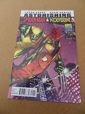 Astonishing Spider-Man & Wolverine 1 of 6 . Marvel 2010 . VF +