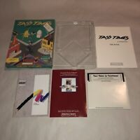 RARE Commodore 64 & 128 Computer Game TASS TIMES IN TONETOWN Complete UNTESTED