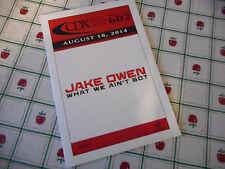 Jake Owen Tyler Farr Brad Paisley Kalleigh Bannen Montgomery Gentry 2014 DJ CD