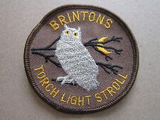 Brintons Torch Light Stroll Walking Hiking Cloth Patch Badge (L2K)