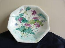 Coupe  porcelaine Canton Chine vert Celadon Qing 1850