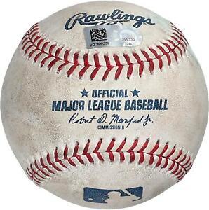 New York Yankees Game-Used Baseball vs. Boston Red Sox on July 18, 2021