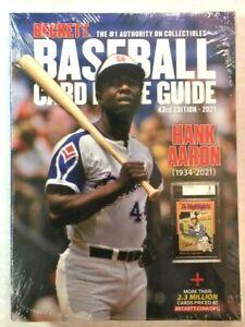 NEW 2021 Beckett Baseball Card Annual Price Guide #43 Edition HANK AARON C232117