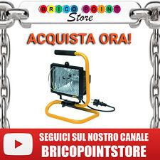 FARO ALOGENO BLINKY IP44 CAVO 2 M E SUPPORTO LAMPADINE 118 MM 400 W