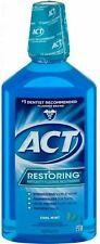 ACT Restoring AntiCavity Fluoride Mouthwash Cool Splash Mint 33.8oz