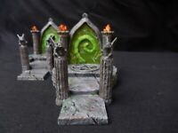 Fel portal or arcane gate for tabletop games
