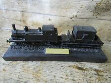 More details for kingmaker vintage coal sculpture lner tank train steam collection 23cm long