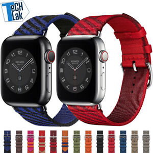 Nylon braid Jumping Single Tour Strap for iWatch 38-44MM sports bracelet bands