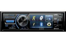"JVC KD-AV41BT Single Din DVD/CD/MP3 Player 3"" LCD Display Bluetooth Front USB"