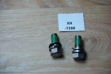 Kawasaki  92002-3770 2 Stk 7 BOLT,10X25 Genuine NEU NOS xn7288