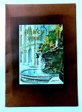 NANCY SYMPHONIE  8 LITHOGRAPHIES de Marcel EUVARD - Ed KLOPP