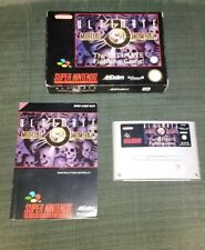SNES Ultimate Mortal Kombat 3 (with box & manual) PAL
