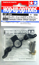Tamiya 53259 RC F1 3.5mm Offset Front Upright Set F103/RM01 Hop Up Parts OP259