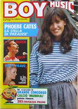BOYMUSIC 22 1982 Phoebe Cates Patty Pravo Queen Tina Turner Krokus Teresa De Sio