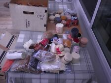 Lot of 81 packages plus Extra rug yarn Skillcraft Dupont Brucilla