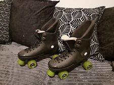 New listing Max Hockey Pro-elite Quad Roller Skate Boots Size 8