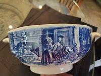 Liberty Blue Staffordshire  Soup Tureen - No Lid