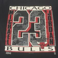 Vintage Michael Jordan Chicago Bulls Basketball T-shirt NBA Champion Dunk MVP