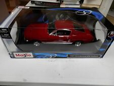 Maisto 1967 Ford Mustang GTA 1 18 Die Cast 1969 Boss 429 Sign mug model Revell