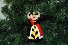 Alice In Wonderland, Queen of Hearts Christmas Ornament