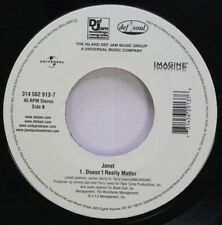 Pop 45 Janet - 1. Doesn'T Really Matter / 1. Doesn'T Really Matter On Def Jam