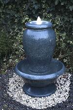 Design Springbrunnen Amphore mit LED Beleuchtung Zimmerbrunnen Gartenbrunnen