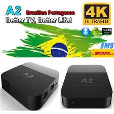 2017 Newest A2 Smart TV Box Well as HTV5 A1 Upgrade Brazilian live TV&Movies 4K
