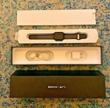 Apple Watch Series 2 Nike+ 38mm Black/Gray w/ Box 38mm 8GB Extra Doc