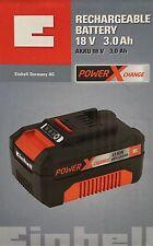 Einhell Power-X-Change 18 Volt System Akku Lithium-Ionen (Li-Ion) 3.0 Ah