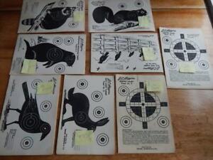 Vintage J. C. Higgins Animal Targets X 49, Small Caliber Targets, Variety!