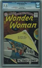 WONDER WOMAN #105 CGC 7.5 SCARCE 5TH BEST CGCCOPY CREAM TO OFF-WHITE PAGES 1959