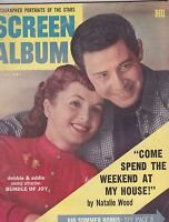 FALL 1956 SCREEN ALBUM vintage movie magazine - DEBBIE REYNOLDS