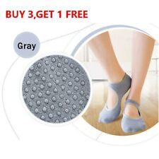 Sale! Yoga Socks Non Slip Skid Grips Pilates Fitness Ballet Exercise Floor Socks
