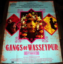 GANGS OF WASSEYPUR PART 2 Anurag Kashyap India Manoj Bajpai LARGE French POSTER