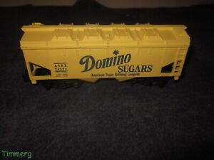 American Flyer 24222 Domino Sugars Covered Hopper PikeMaster Couplers RARE LN