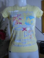 Bench - Yellow patterned t shirt   - size s - fantastic condition