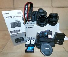 Canon EOS 6D Mark II 26.2MP Digital SLR Camera (Made in Japan) with accessories